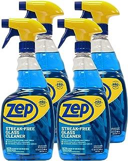 Zep Streak-Free Glass Cleaner 32 Ounce ZU112032 (Case of 4)