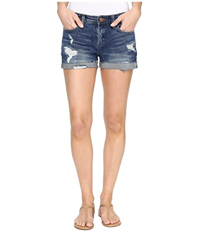 Blank NYC Cuffed Distressed Shorts in Dress Down Party (Dress Down Party) Women