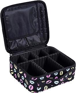 DCCN maletín de cosmética Profesional Neceser Beauty Case Equipaje de Viaje