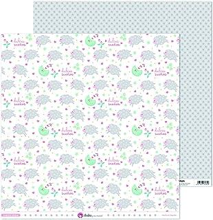 Anita y Su Mundo Collection Notre petit papier de scrapbooking, papier, moutons, 30,5 x 30,5 cm