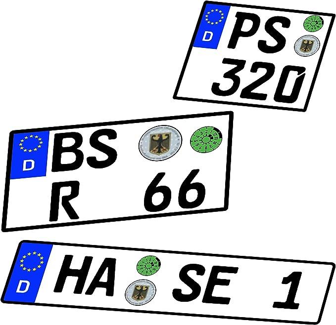 Wunschkennzeichen Kennzeichen 1 6 1 10 1 12 1 18 1 24 1 32 1 43 1 60 1 64 1 72 1 87 Alles Möglich Auch Motorrad Nummernschild Wuns Spielzeug