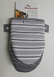 KitchenAid 2 Pack Silver Gray Mini Mitt