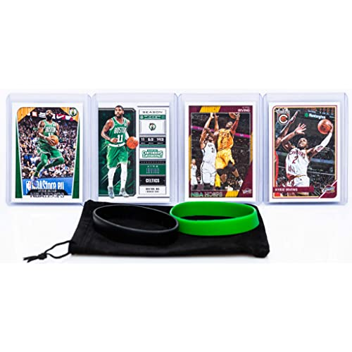 Kyrie Irving (4) Assorted Basketball Cards Bundle - Cleveland Cavaliers Trading Cards - #