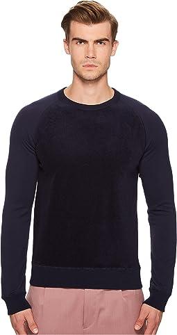 Todd Snyder - Texture Block Crew Sweatshirt