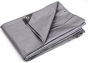 Kotap Lona de poliéster TRS-0610 resistente de 10 mil com 100% de proteção UV, 1,5 x 3,5 m, prata