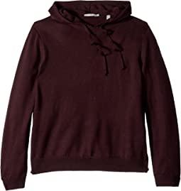 Side Zip Hooded Pullover