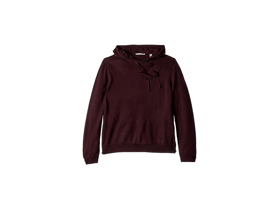 Vince Side Zip Hooded Pullover (Zinfandel) Men