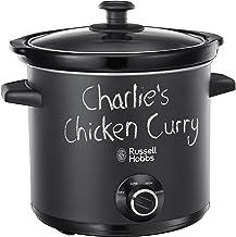 Russell Hobbs 24180 Chalkboard Slow Cooker, 3. 5 L, Black