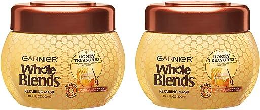 گارنیر کل مخلوط گنج های عسل برای ترمیم ماسک مو برای موهای آسیب دیده خشک ، 10.1 اونس ، 2 عدد