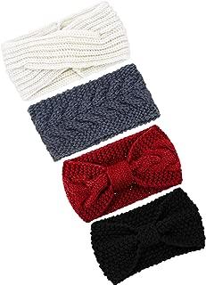 Best knit crossover headband Reviews