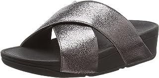 FitFlop Women's Lulu Molten Metal Sandals