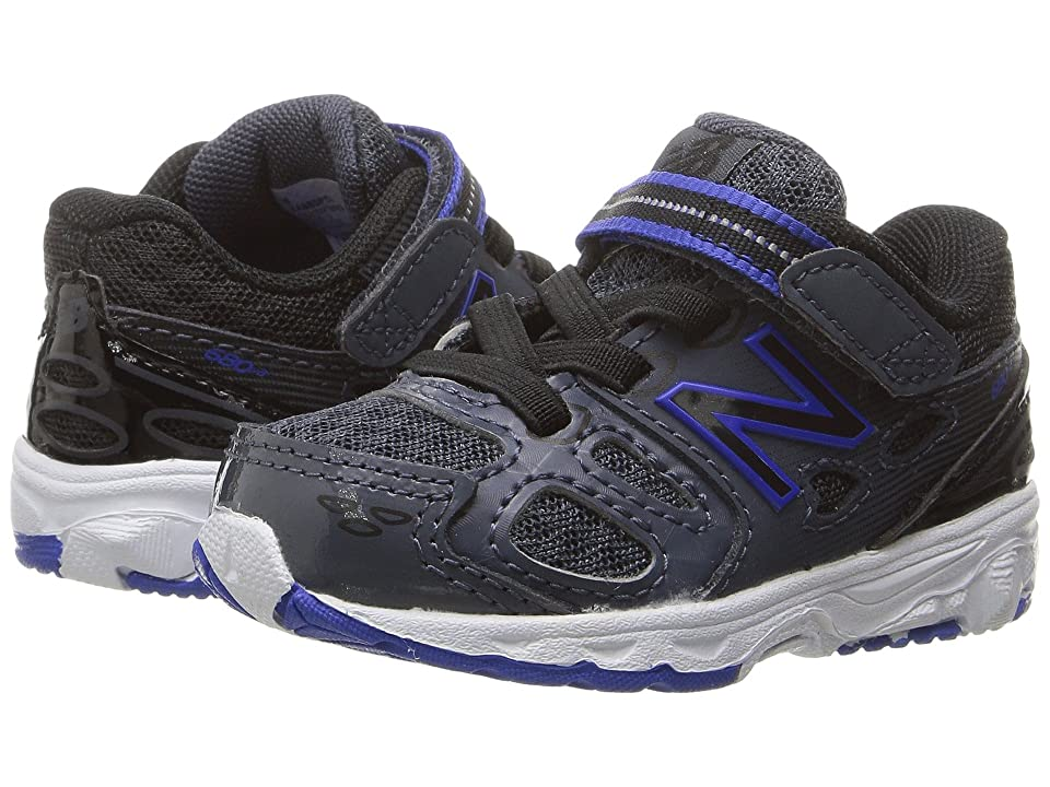 New Balance Kids KA680v3 (Infant/Toddler) (Grey/Blue) Boys Shoes