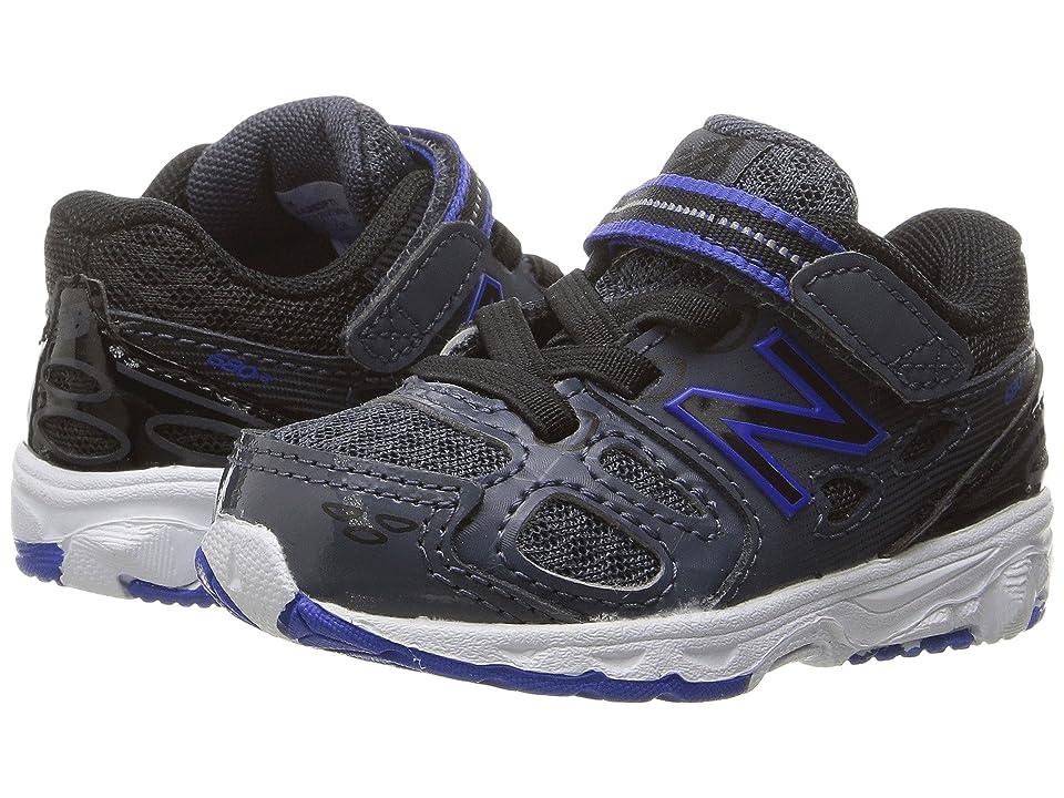 New Balance Kids KA680v3 (Infant/Toddler) (Grey/Blue) Boys Shoes