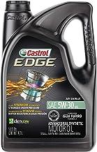 Best Castrol 03084C Edge 5W-30 Advanced Full Synthetic Motor Oil, 5 Quart Reviews