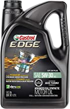 Castrol 03084 EDGE 5W-30 Advanced Full Synthetic Motor Oil, 5 Quart