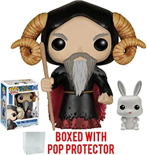 Funko Pop! Movies: Monty Python and The Holy Grail - Tim The Enchanter Vinyl Figure (Includes Compatible Pop Box Protector Case)