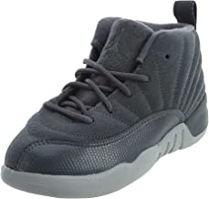 Nike Air Jordan 12 Retro Infant Toddler Dark Grey 850000-005 (5)
