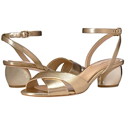 Imagine Vince Camuto Leven 2 (Soft Gold Fine Tumbled Metallic) High Heels