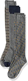 OVS Men's 191SOC076LSMICR-234 3 Knee-Length Sock Higher 67 Decitex, Grey (Medium Grey Melange 911), Size: 38/42