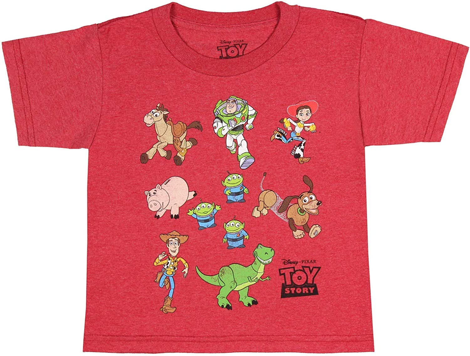 Disney Pixar Toddler Toy Story Shirt Character Toy Lot Graphic T-Shirt