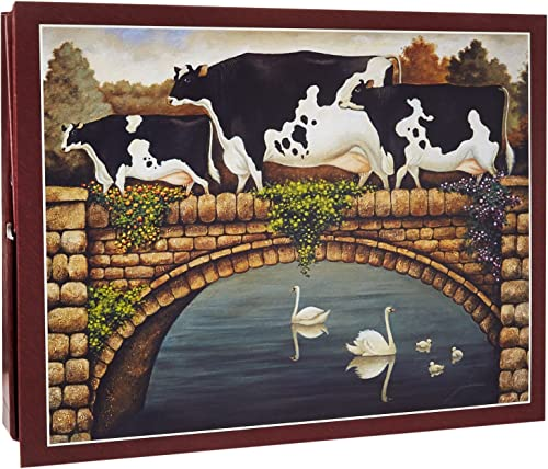Lang Over The Bridge by Faibleell Herrero Puzzle (500-Piece) by Lang