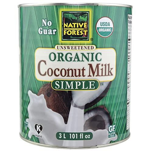 Native Forest Simple Organic Unsweetened Coconut Milk, 101 Ounce