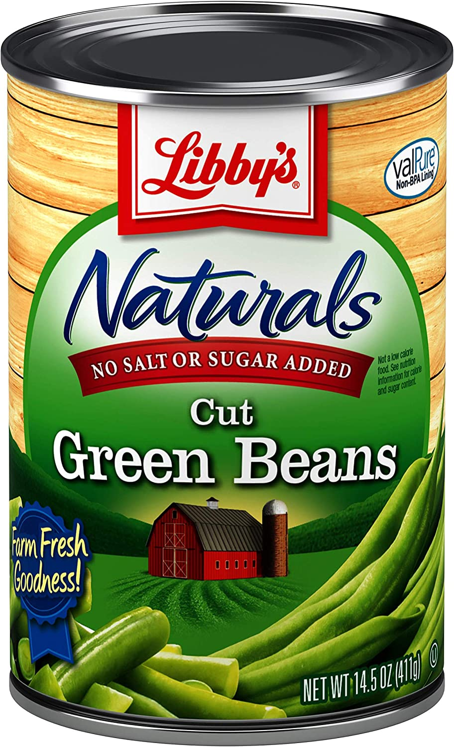 Free shipping 2021 autumn and winter new Libby's No Salt Sugar Naturals Cut Cans 14.5 Green Beans O