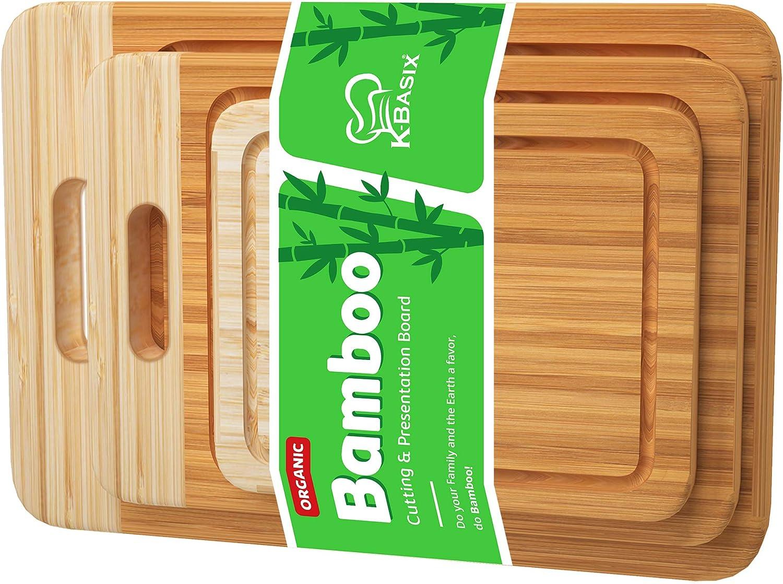 K Ranking TOP11 BASIX Bamboo Cutting Board Set Juice 3 Groove Qua Premium Pcs Safety and trust