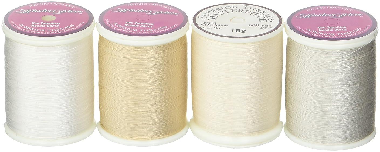 Superior Threads STCNL Masterpiece Neutrals Lights 4 Spools Thread Set