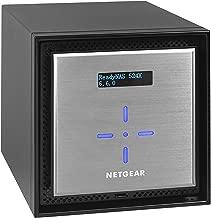 NETGEAR ReadyNAS RN524XD6 4 Bay 24TB Desktop Premium Performance NAS, 40TB Capacity Network Attached Storage, Intel 2.2GHz Dual Core Processor, 4GB RAM
