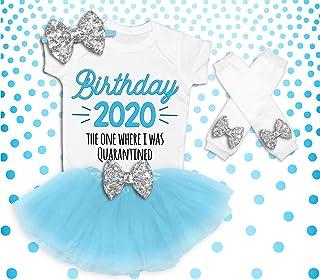 Quarantine Birthday, Birthday 2020 One Where I was Quarantined, Mint Quarantine, Quarantine Tutu Outfit Set, Social Distancing, Birthday