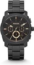 Fossil Reloj Cronógrafo para Hombre de Cuarzo con Correa en Acero Inoxidable FS4682