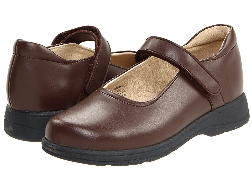 School Issue Prodigy (Toddler/Little Kid/Big Kid) (Brown) Girls Shoes