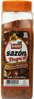 Badia Sazon Tropical with Annatto and Coriander, 1.75 Pound (Pack of 6)