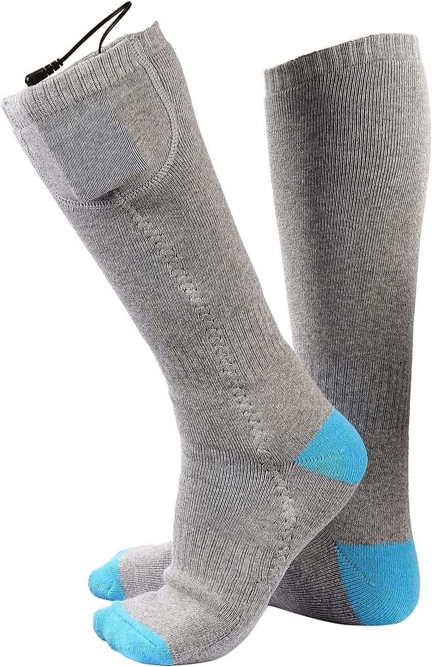 Ranking TOP18 cheap ZXCFTG Heated Socks for Men B Electric Women Rechargeable
