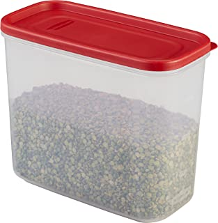 Rubbermaid 1776472 16-Cup 16C Dry Food Container, Clear