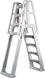 Best resin above ground deck ladder Reviews