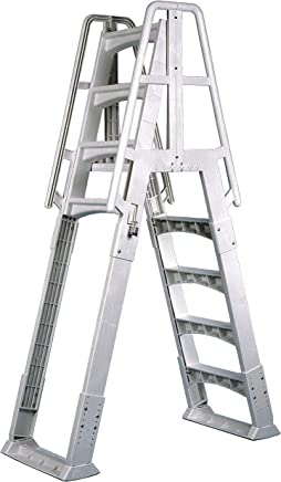 Amazon.com: Above Ground - Pool Ladders / Slides, Ladders & Diving ...