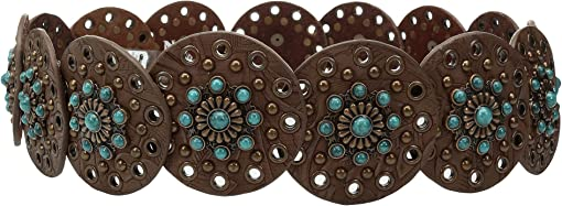 Brown/Turquoise
