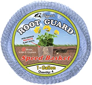 Sponsored Ad - Digger's 1-Gallon Root Guard Speed Baskets for Plants, Control Gopher for Efficient Planting, 4-Pack