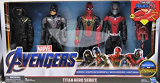 Marvel Avengers Titan Heroes Power FX Set of Four Action Figures