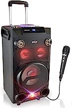 Pyle Outdoor Portable Wireless Bluetooth Karaoke PA Loud speaker – 8''..
