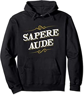 Immanuel Kant Latin Shirt - Sapere Aude - Philosopher Hoodie