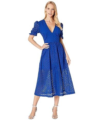 Bardot Jordan Lace Dress (Cobalt) Women