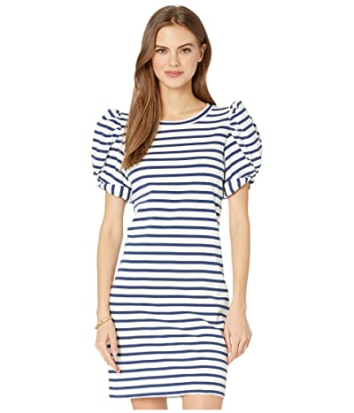 Lilly Pulitzer Anabella Dress (High Tide Navy Perfect Pair Stripe) Women