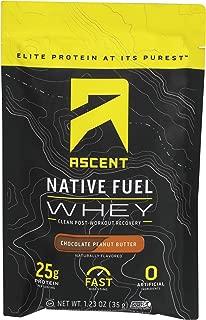Ascent, Whey Chocolate Peanut Butter Single, 35 Gram