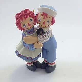 Holiday Hug Raggedy Ann & Andy 2004 Hallmark Keepsake Ornament