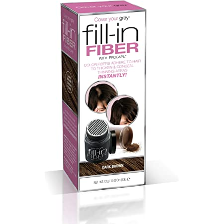 Cover Your Gray Pro Fill-In Fibers with Procapil - Dark Brown
