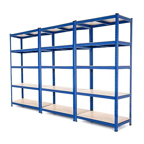 Estantería de acero muy resistente, estantería de garaje para organizar herramientas