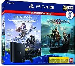 Sony PlayStation 4 - PS4 Pro 1TB + GOW + Horizon